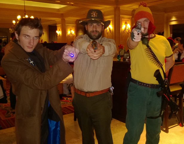 A Dr, a Sherriff and a Sci-Fi Cowboy