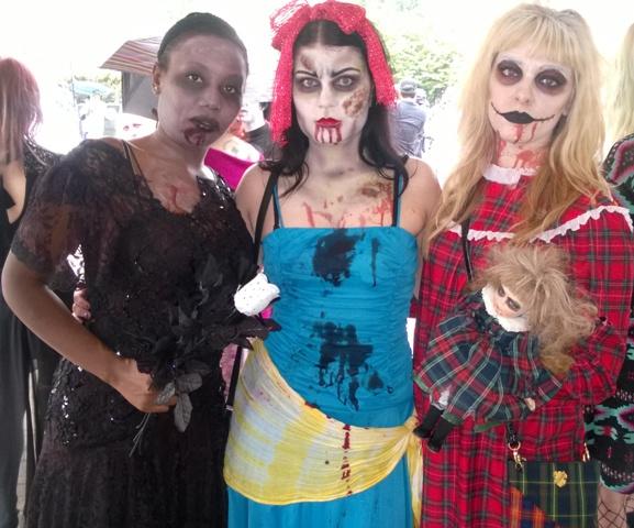 Ladies of Nashville Zombie Walk