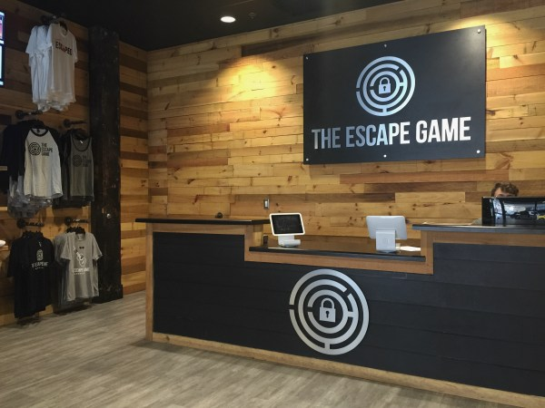 Escape Room Nashville lobby