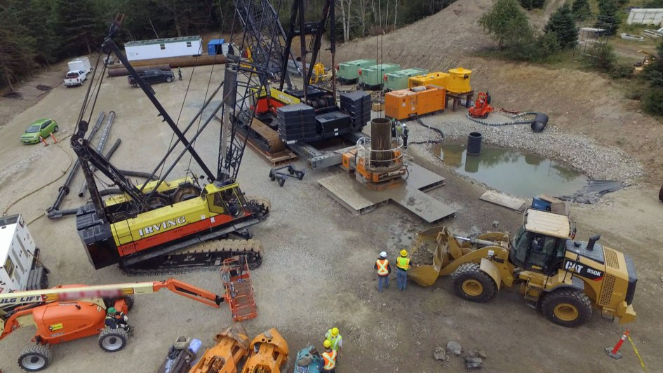 Money Pit Oak Island Drilling