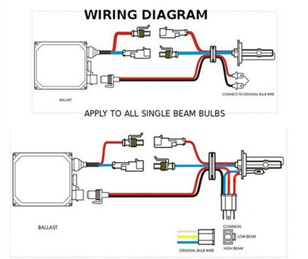 Xenon hid conversion wiring diagram wiring diagram hid light installation instructions www lightneasy net rh lightneasy net high low hid wiring diagram headlight wiring harness diagram asfbconference2016 Image collections