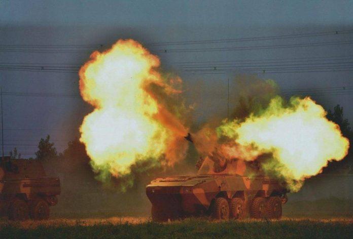 Vehículo de Combate de Artillería PLL-09.