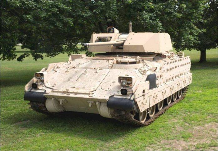 Una de las últimas variantes del Bradley, en este caso dotada con una torre sin tripulación Kongsberg MCT30. Imagen: US Army.