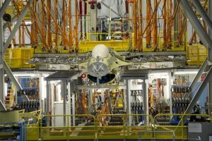 F-16 Block 50 Test Fixture Set Up