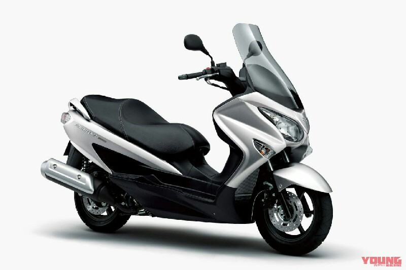 Suzuki Burgman 200 versi 2020