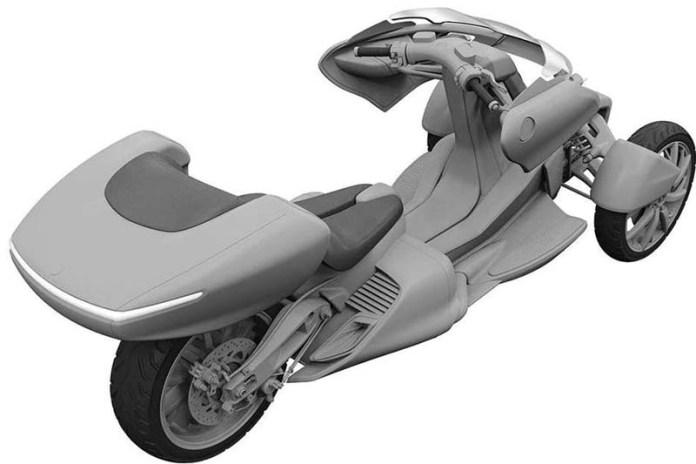 Desain Motor Roda Tiga Yamaha