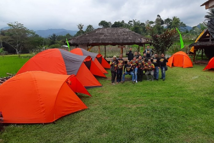 Bikers Ride and Camp