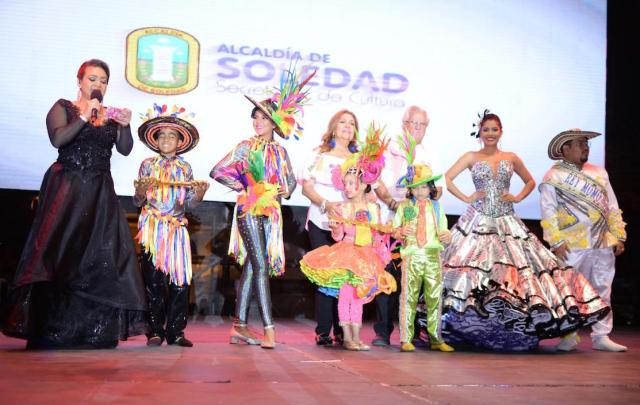La realeza del Carnaval Soledad 2019.