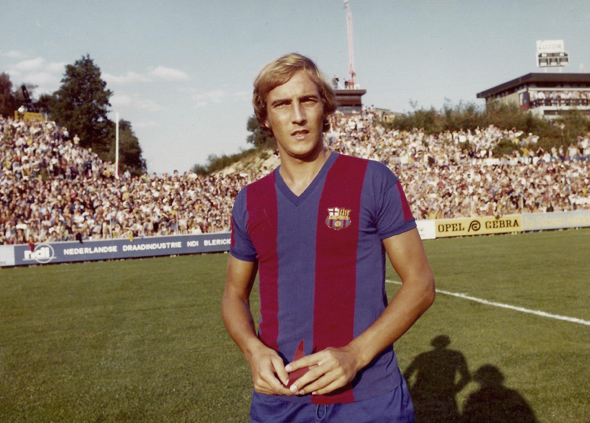 Johan Neeskens Barcelona