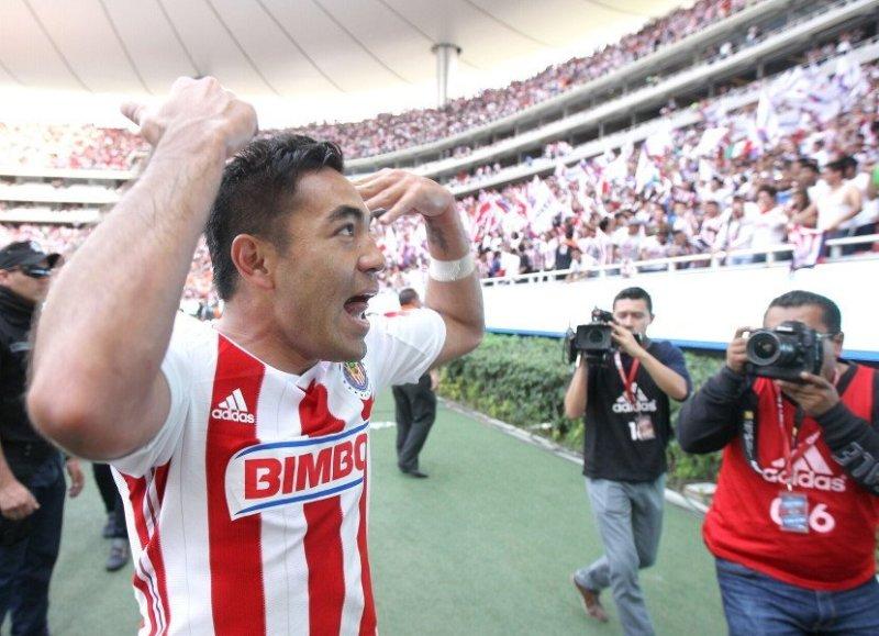 L'ultimo talento di casa Chivas: Marco Fabián, attualmente all'Eintracht Francoforte. (EFE/Ulises Ruiz Basurto)