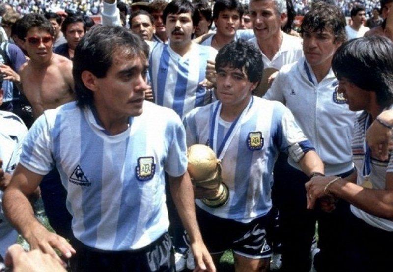 Pasculli e Maradona