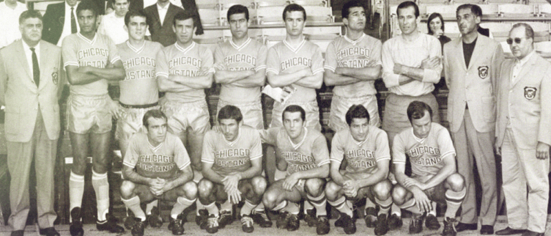 Cagliari 1967 Chicago Mustangs