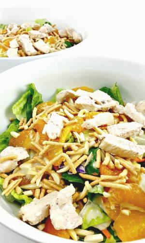 Chicken Oriental Salad for Two