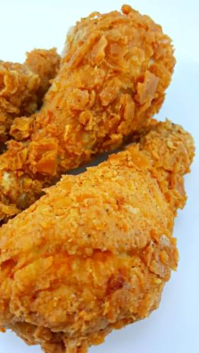 Crispy Fried Chicken for Two, yum!