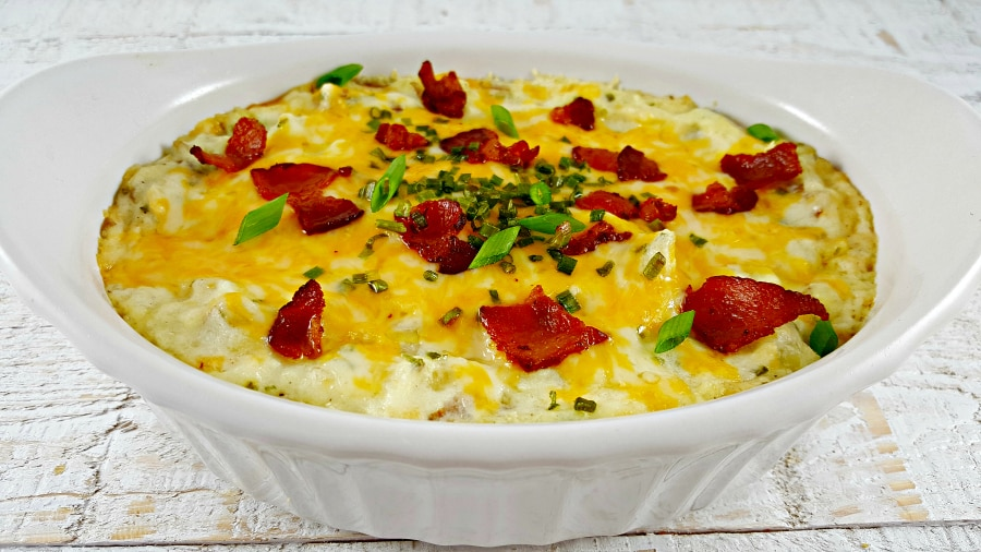 Mashed Potato Casserole Recipe for Two