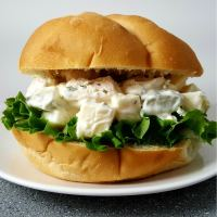 Swiss Cheese Chicken Salad Sandwiches - serves 2