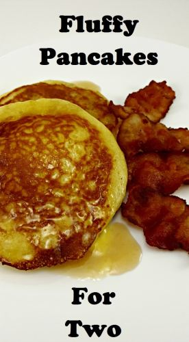 Fluffy Pancakes for Two delicious for breakfast or dinner