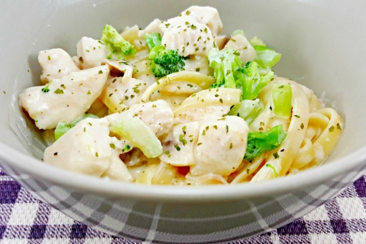 Chicken Fettuccine Alfredo - the best recipe