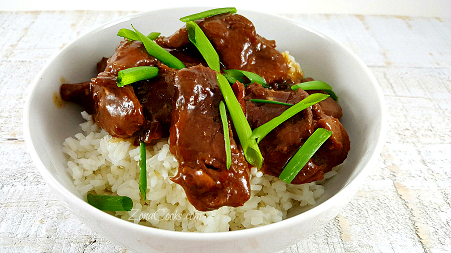 Crockpot Mongolian Beef Recipe for Two