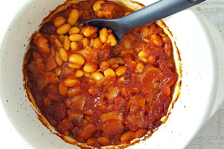 Best Homemade Baked Beans - Small Batch, easy and delicious!