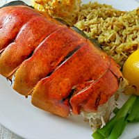 Grilled Lobster Tails Recipe for Two are delicious, easy, and quick!