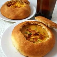 Cheddar Beer Soup Small Batch Recipe - delicious creamy comfort food!
