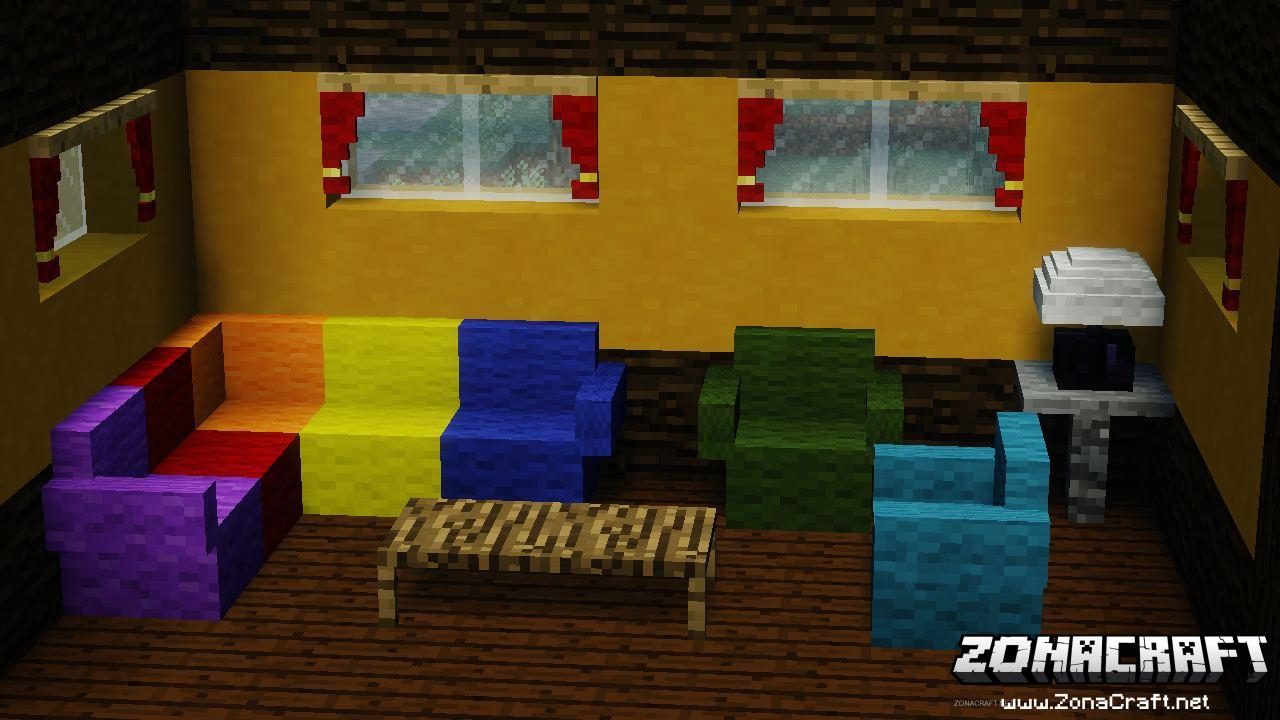 Furniture Mod Para Minecraft 1 12 2 1 11 2 1 10 2 1 9 4 1