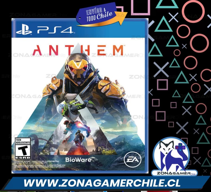 ANTHEM Juego Sony PS4