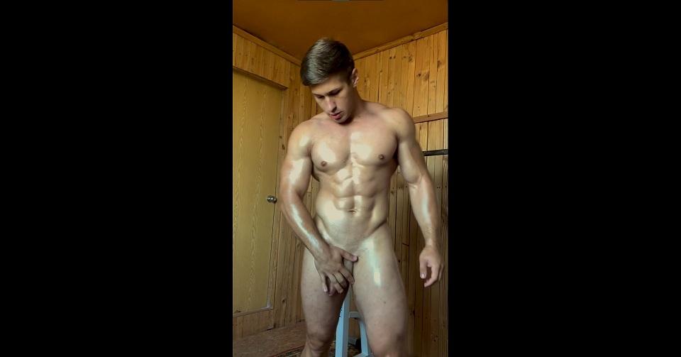 [VIDEO] Dorian Mcdon Naked Workout