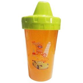 Vaso Racer naranja para niños