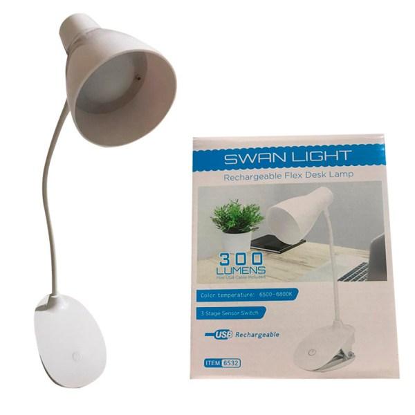 Lámpara de mesa batería recargable