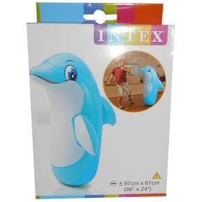 Muñeco Inflable Delfin Intex