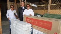 Iglesia realiza donación de productos para fortalecer la erradicación del dengue en Piura. Cortesía Noticiasmormonas.org.pe