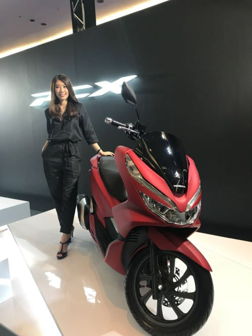 Launching All New Honda PCX 150 MY 2018