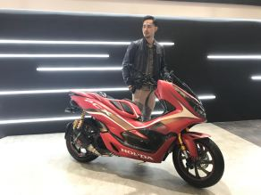 Launching New Honda PCX 150 MY 2018