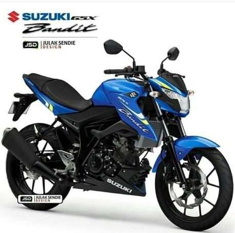 Render Suzuki Bandit 150-4