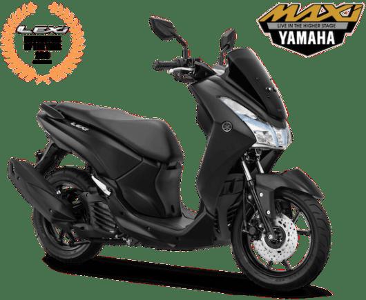Yamaha Lexi MY 2019 Matte Black