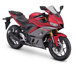 New Yamaha R25 MY 2019-matte red
