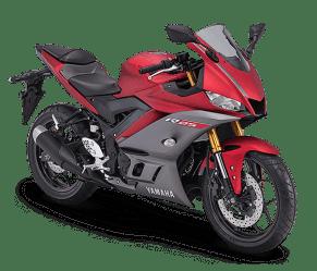 New Yamaha R25 MY 2019-matte red