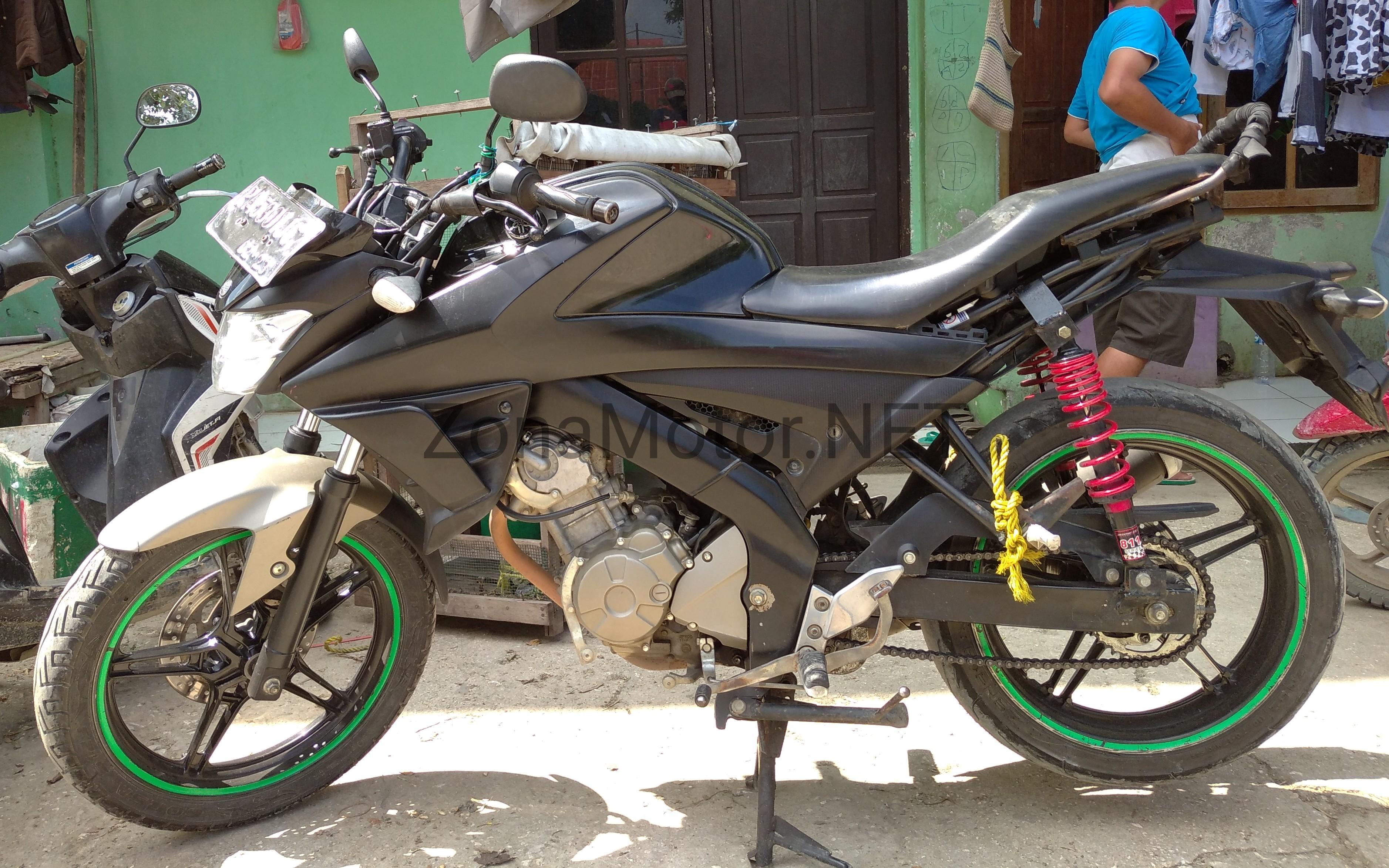 Modifikasi Yamaha All New Vixion Dual Shockbreaker Dan Cerita Kekejaman Kangkung Zona Motor Dot Net