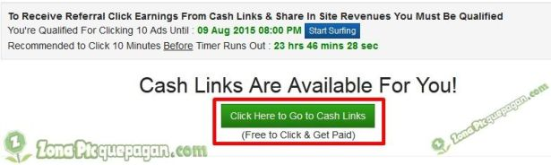 Cash Links