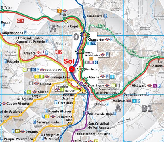 Zona Retiro iLos grandes errores ferroviarios de Madrid y IIi