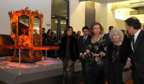 Botella, González, la Reina, la Duquesa y Alfonso Díez - Ayto