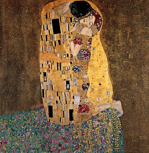 El beso (1908). Gustav Klimt