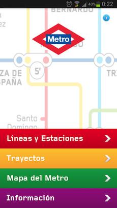 aplicacion metro