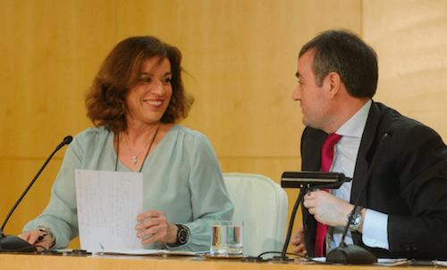 Ana Botella y José Enrique Núñez - Ayto