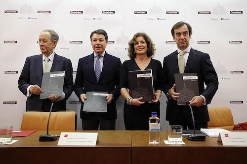 Juan Miguel Villar Mir, González, Botella y Juan Villar-Mir de Fuentes - CAM