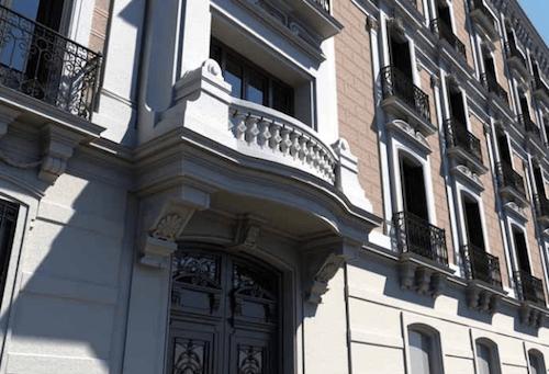 Fachada del edificio de la calle Velázquez 29