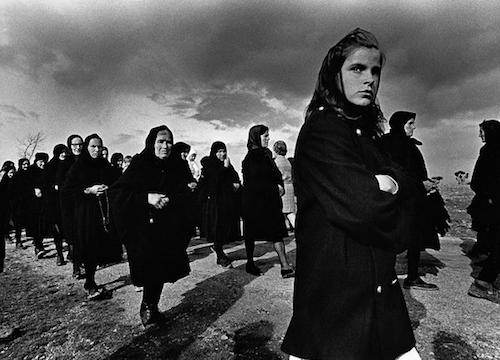 Viernes Santo, Bercianos de Aliste, 1971 (Rafael Sanz Lobato)