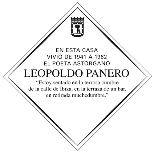 placa-leopoldo-panero-calle-ibiza-madrid
